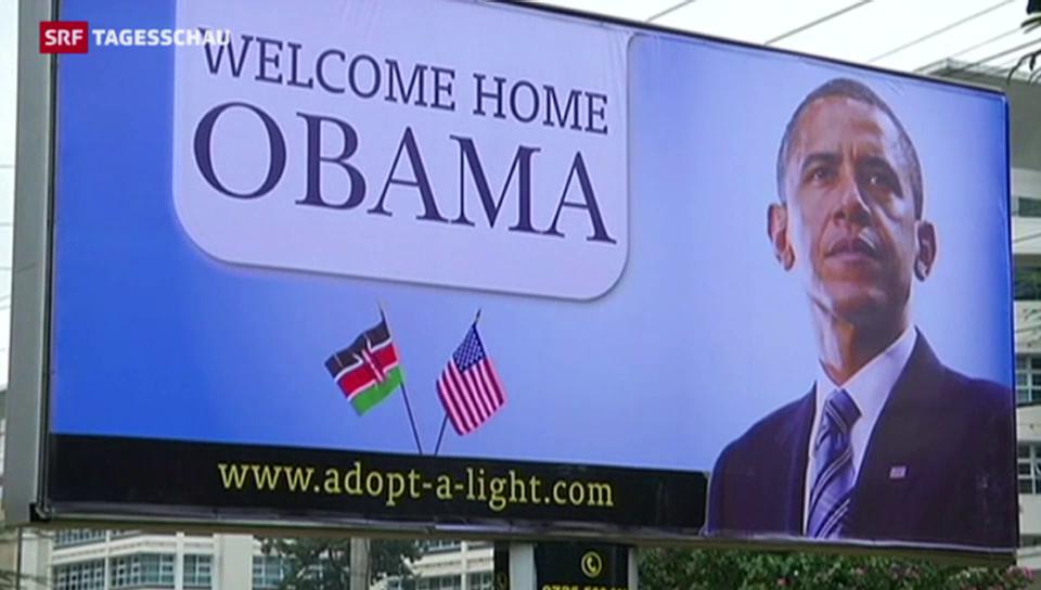 Obama auf Staatsbesuch in Kenia