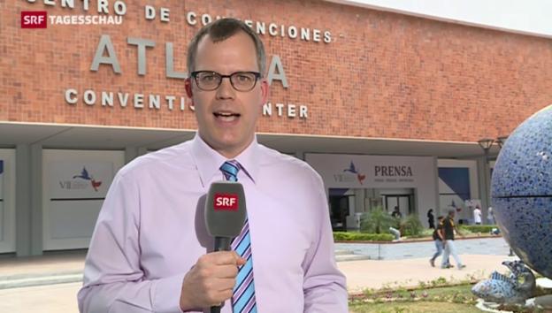Video «SRF-Korrespondent: «Obama will Wandel von innen»» abspielen