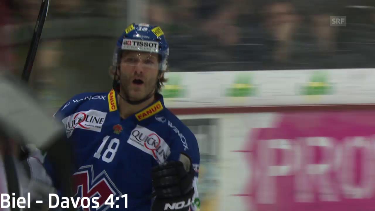 Eishockey: NLA, die Tore von Spylo gegen Davos und die Lakers