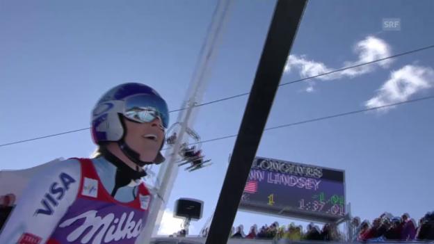 Video «Vonns Siegesfahrt in Cortina d'Ampezzo» abspielen