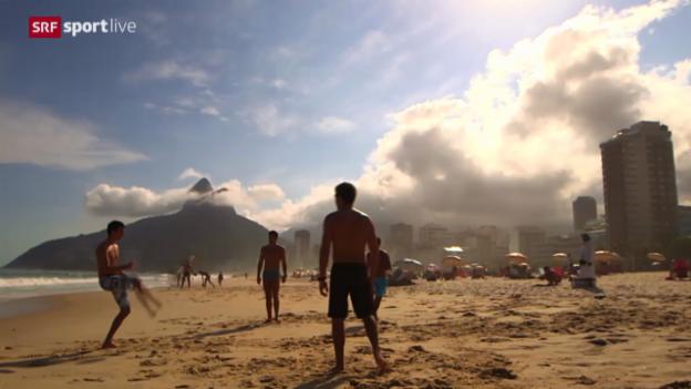 Video «Rio de Janeiro («sportlive», 6.12.2013)» abspielen