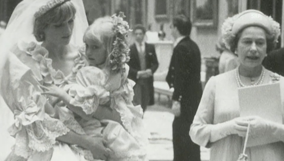 Unveröffentlichte Fotos der Traumhochzeit 1981