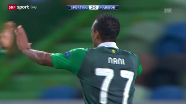 Video «Fussball: CL, Sporting - Maribor» abspielen
