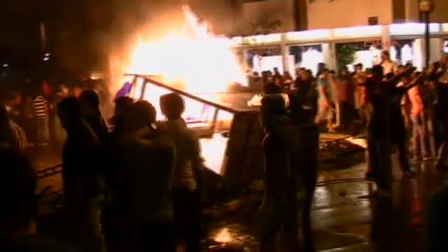 Izmir in Flammen - Proteste in der Türkei (unkommentiert)