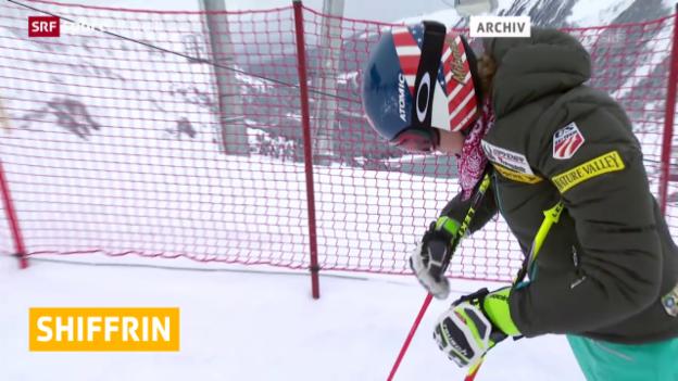 Video «Ski: Mikaela Shiffrin muss pausieren («sportaktuell»)» abspielen