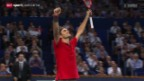Video «Tennis: Swiss Indoors Basel, Final» abspielen