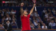 Video «Tennis: Swiss Indoors Basel, Final» abspielen