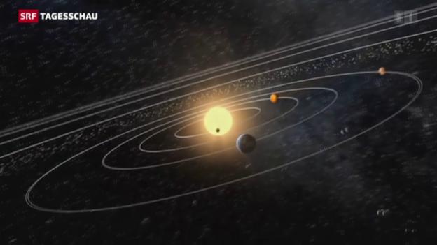 Video «Astronomen gehen von neun Planeten aus» abspielen
