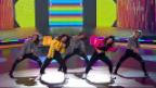 Video «Tiziana Gulino & Nelly Chriqui tanzen zu einem Hip-Hop-Medley» abspielen