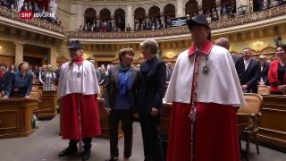 Video «FOKUS: Bundesratswahl und die Frauen» abspielen