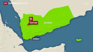 Video «Jemen: Huthi-Stellungen bombardiert» abspielen