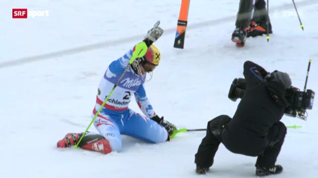 Ski-WM: Männer-Slalom («sportpanorama»)