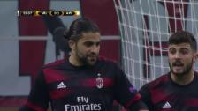 Link öffnet eine Lightbox. Video Kantersieg für die AC Milan gegen Austria Wien abspielen