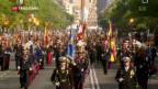 Video «Spanien begeht Nationalfeiertag» abspielen