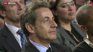 Video «Polizei hält Sarkozy fest» abspielen