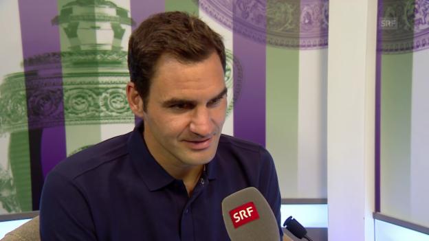Video «Federer: «Hauptsache eine Runde weiter»» abspielen