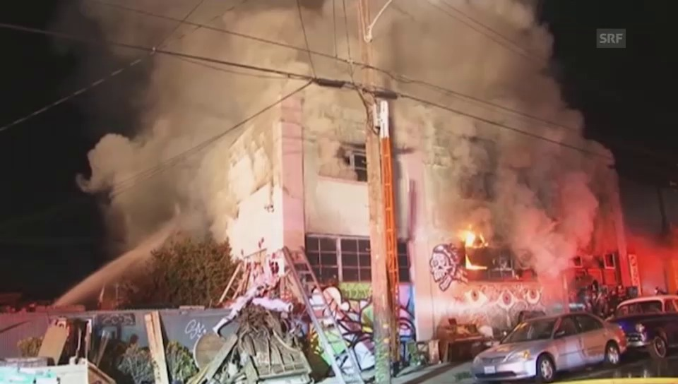 Die Nacht der Tragödie in Oakland (unkomm.)