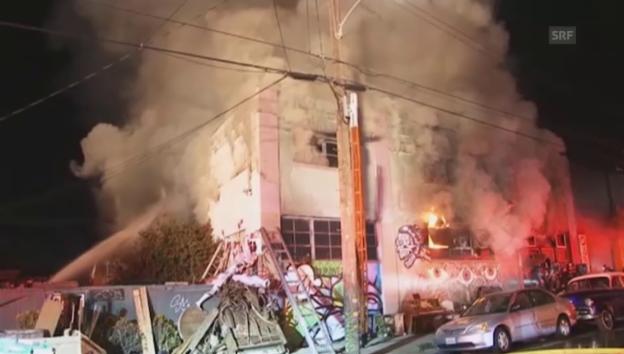 Video «Die Nacht der Tragödie in Oakland (unkomm.)» abspielen