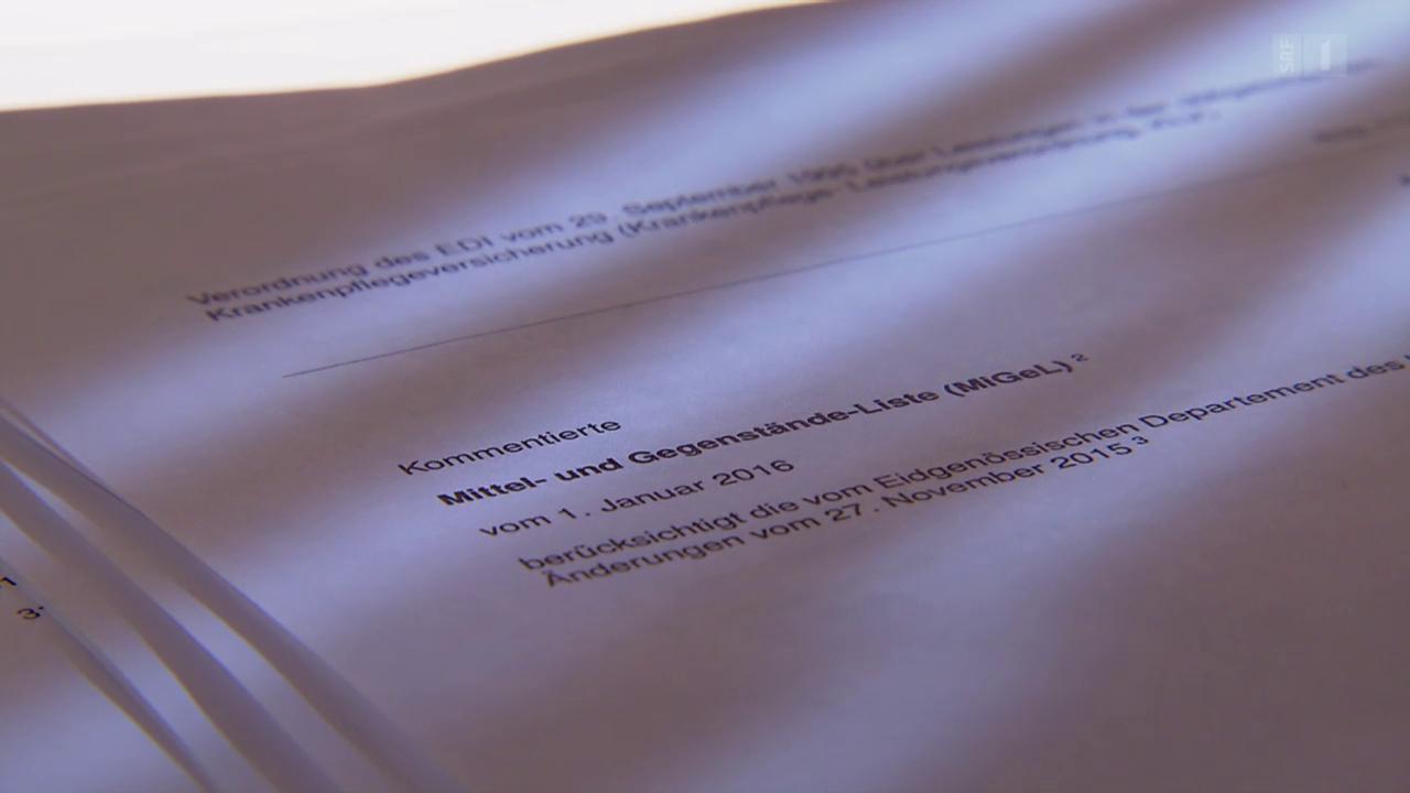 Überteuerte Medizinalgeräte: Amtlich bewilligte Fantasiepreise