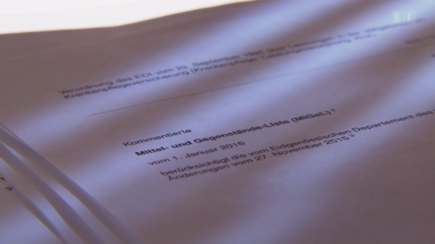 Video «Überteuerte Medizinalgeräte: Amtlich bewilligte Fantasiepreise» abspielen