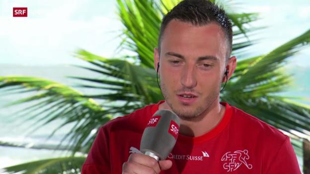 Video «Fussball: Josip Drmic im Gespräch» abspielen