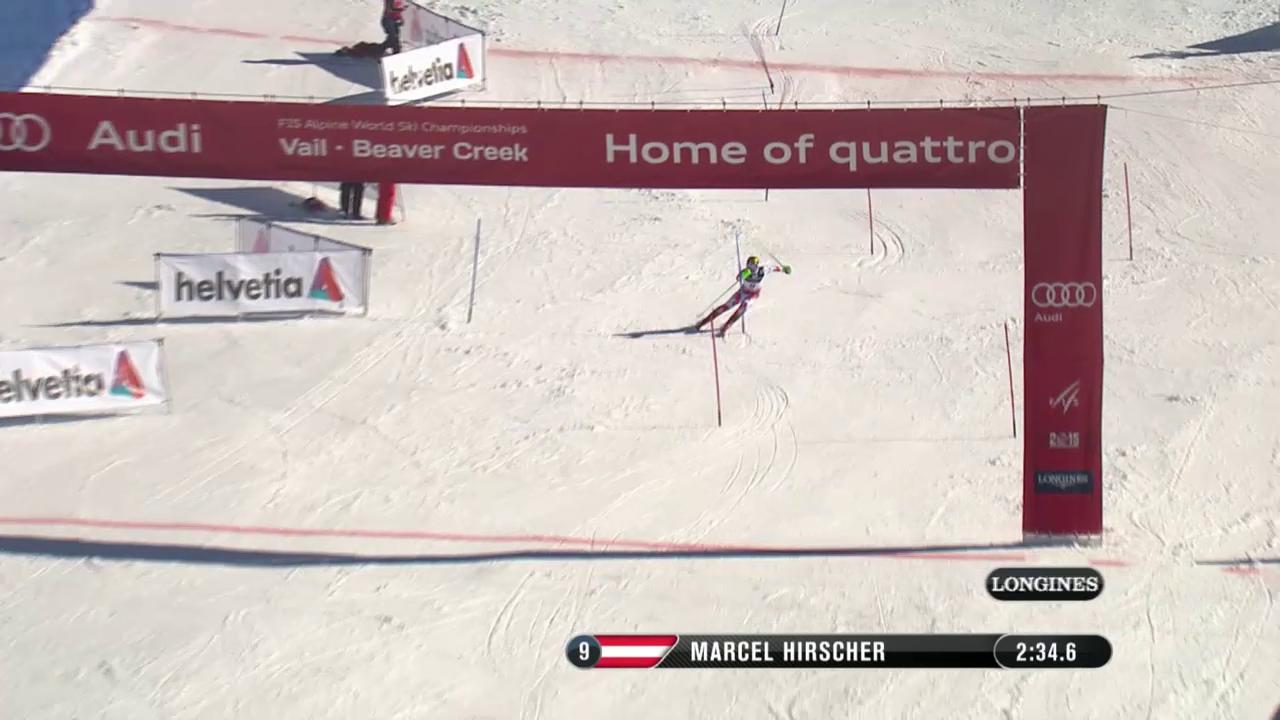 Der Slalom von Marcel Hirscher