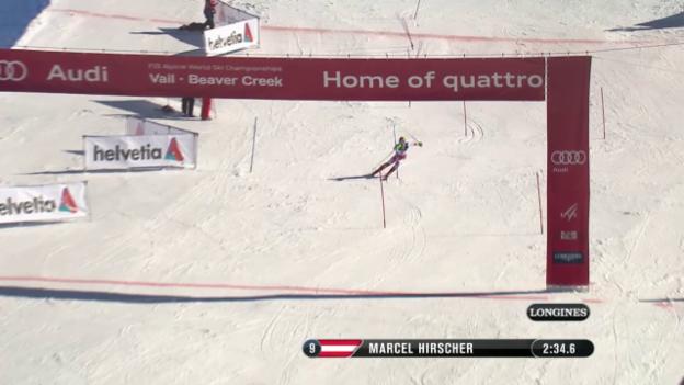Video «Der Slalom von Marcel Hirscher» abspielen
