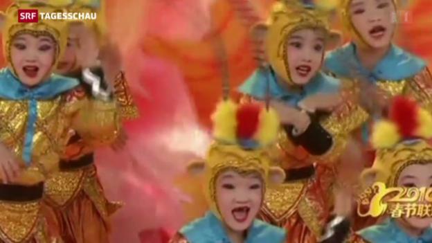 Video «China begrüsst das «Jahr des Affen»» abspielen