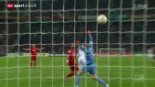 Video «Fussball: Bundesliga, Bayern - Gladbach» abspielen