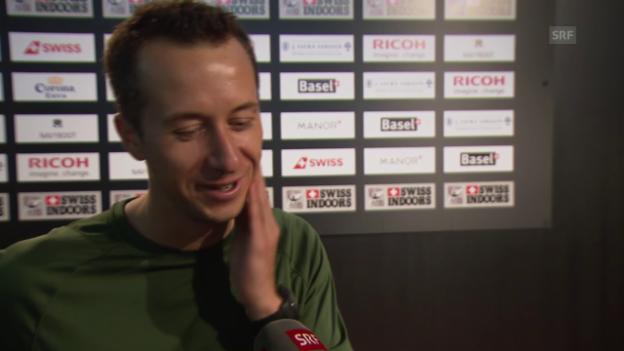 Video «Tennis: ATP Basel, Quiz Kohlschreiber» abspielen