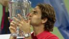Video «Tennis: Roger Federers Abschneiden bei den US Open» abspielen