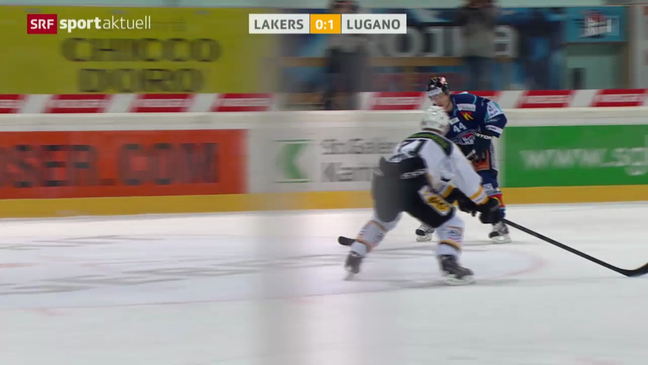 Eishockey: Rapperswil - Lugano