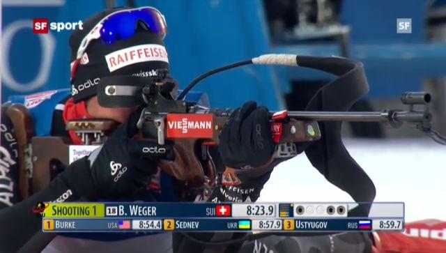Biathlon: Sprint Männer und Frauen in Östersund («sportaktuell»)