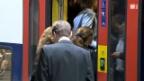 Video «Fahrgastwechsel: Schnell raus – schnell rein» abspielen