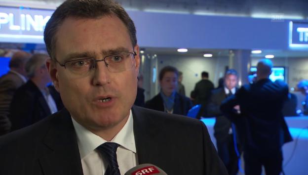 Video «SNB-Chef Thomas Jordan zur wirtschaftlichen Grosswetterlage» abspielen
