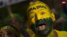 Link öffnet eine Lightbox. Video Kleider-Dilemma für Brasiliens Fussball-Fans abspielen