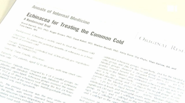 Video «Echinacea - Wirkungslos bei Erkältung» abspielen