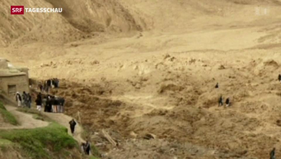 Erdrutsch in Afghanistan fordert noch mehr Leben