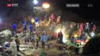 Video «Mädchen aus Felsspalte gerettet» abspielen