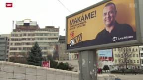Video «Slowakei wählt neues Parlament» abspielen