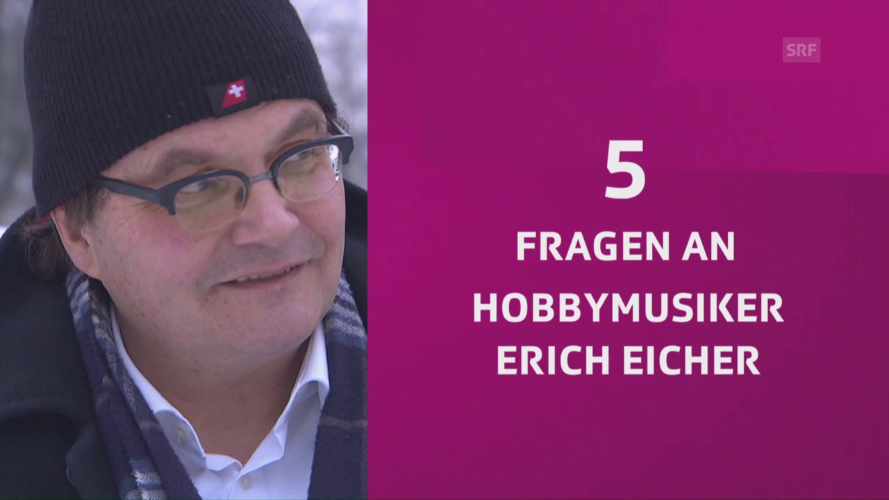 5 Fragen an Erich Eicher