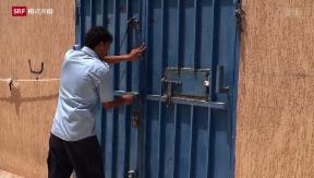 Video «Libyens Kampf gegen Flüchtlinge» abspielen