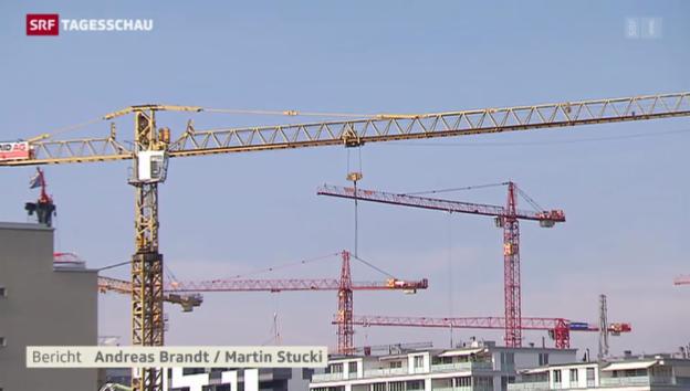 Video «Wie lange noch brummt die Baubranche?» abspielen