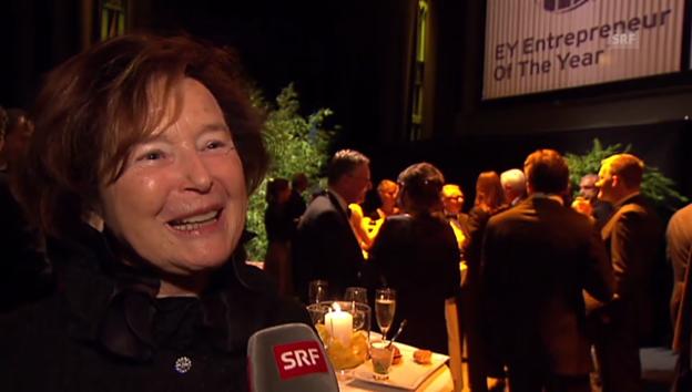 Video «Schluss mit Reissverschlüssen: Elisabeth Kopp über ihr Abendkleid-Desaster» abspielen