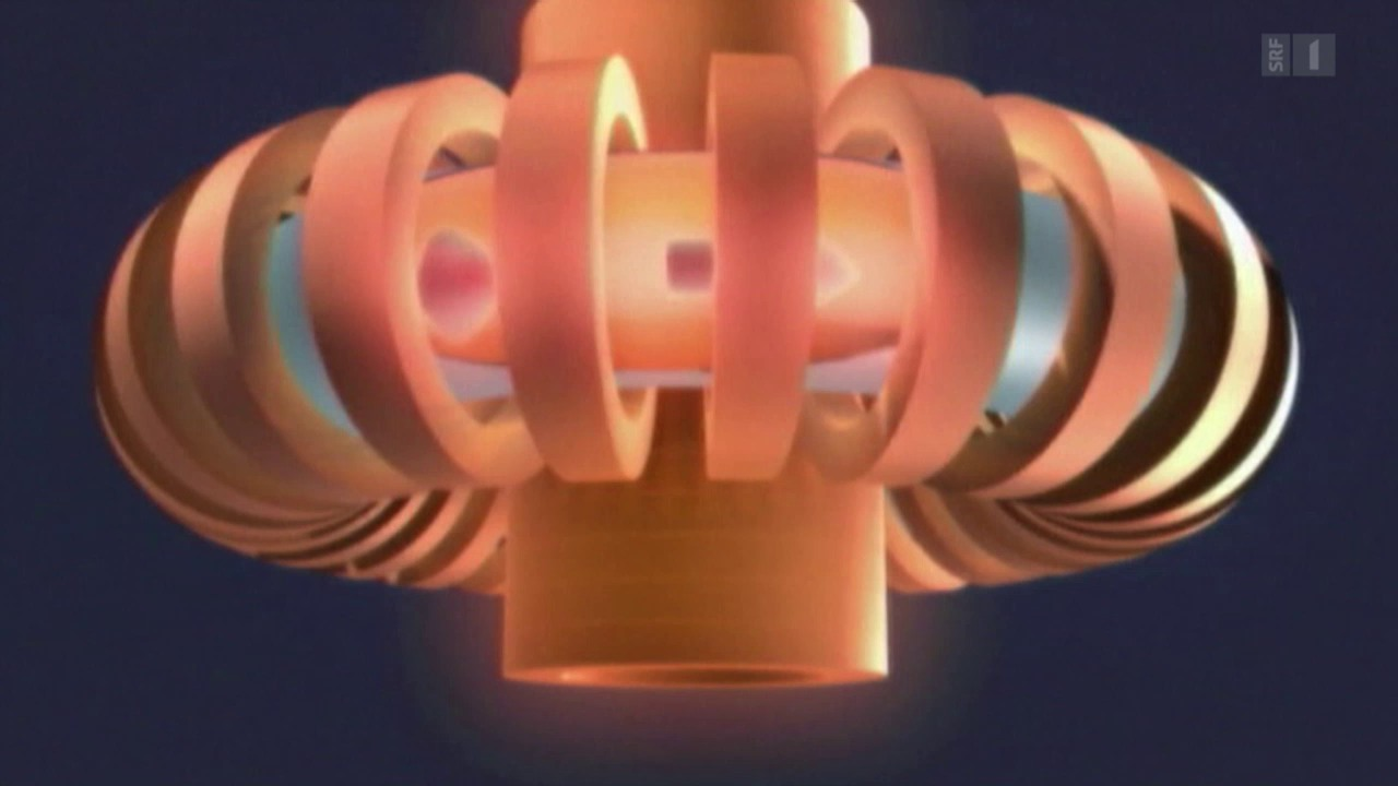 Grafik: Kernfusion im Reaktor