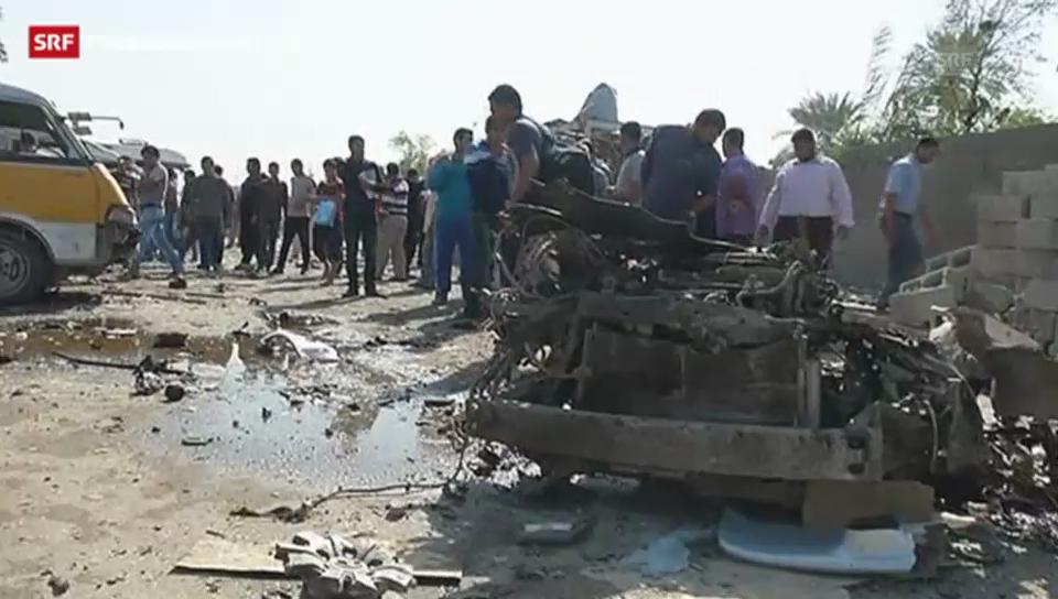 Mehrere Anschläge erschüttern Bagdad.