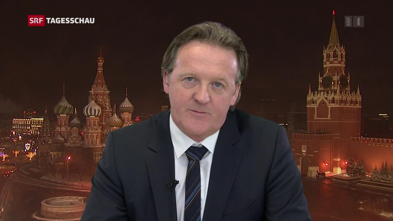 Christof Franzen zur Reaktion Russlands