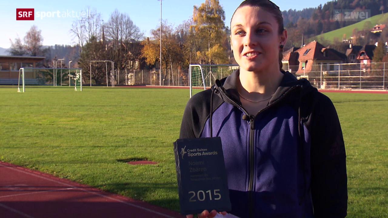 «Sports Awards»: Noemi Zbären