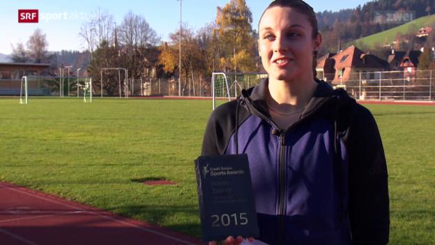 Video ««Sports Awards»: Noemi Zbären» abspielen