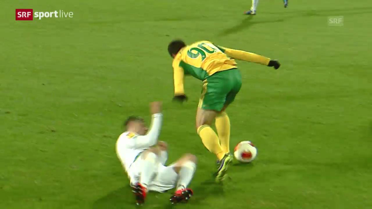 Fussball: EL, Spielbericht Krasnodar - St. Gallen